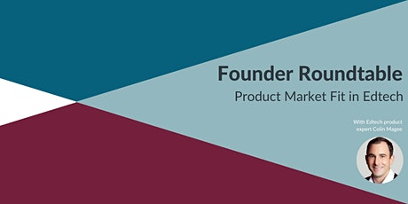 Product Market Fit in Edtech tickets