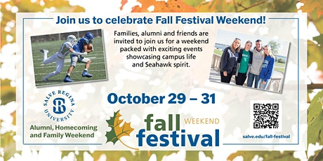 Salve Regina University Fall Festival Weekend 2021 tickets