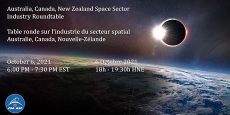 Australia, Canada, New Zealand Space Sector Industry Roundtable tickets