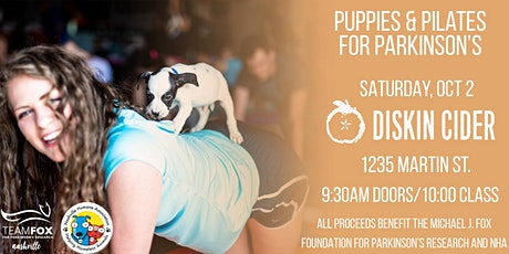 Puppies and Pilates For Parkinson's tickets