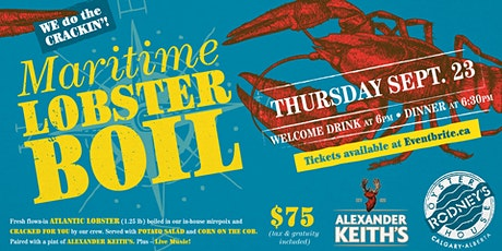 Alexander Keith's Lobster Boil 2021 tickets