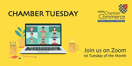 CHAMBER TUESDAY - 2nd November tickets