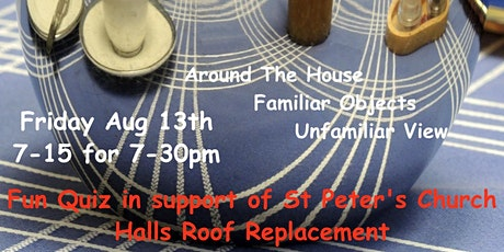 Quiz Night in aid of St Peter's Hall Roofs Appeal tickets