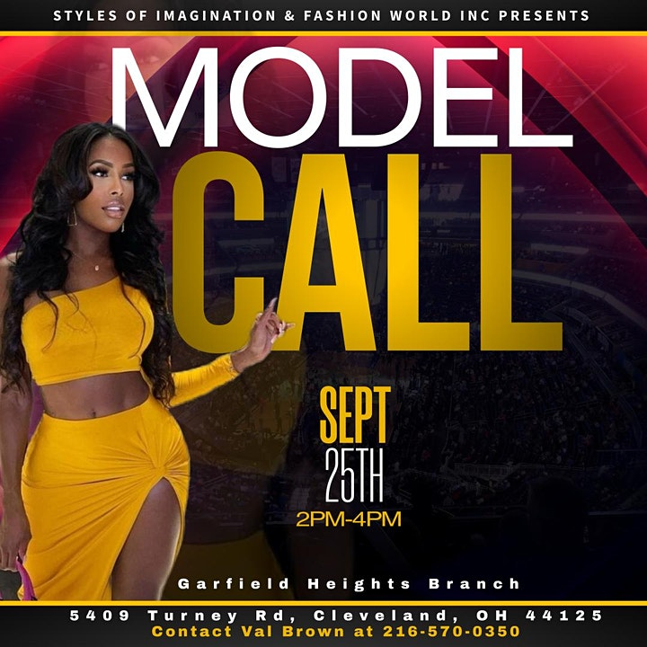 All Style Fashion Fest Model Call All Star Weekend 2022 Cleveland image