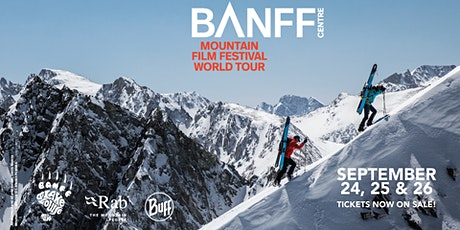 The 2021 Banff Centre Mountain Film Festival World Tour tickets