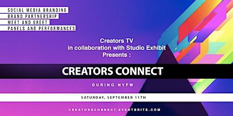 Creators TV Presents: Creators Connect during NYFW tickets