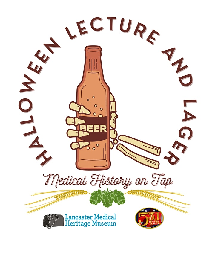 Halloween Lecture and Lager: Medical History on Tap image