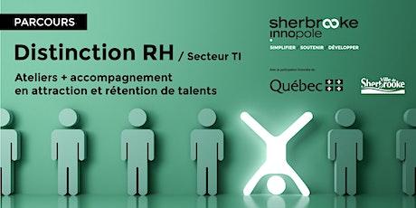 Parcours – Distinction RH / Secteur TI tickets