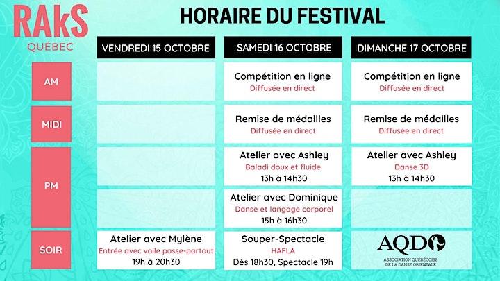 Image de Hafla-spectacle en ligne - Festival RAkS Québec 2021
