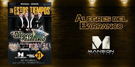 LOS ALEGRES DEL BARRANCO tickets