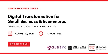 Digital Transformation for  Small Business & Ecommerce tickets