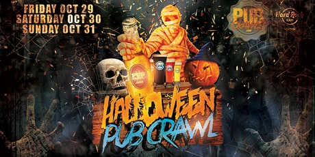 Happy hour HalloWeekend Pub Crawl Boston [Faneuil Hall] tickets
