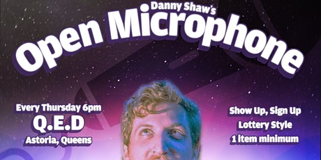 Open Microphone -- Open Mic at QED tickets