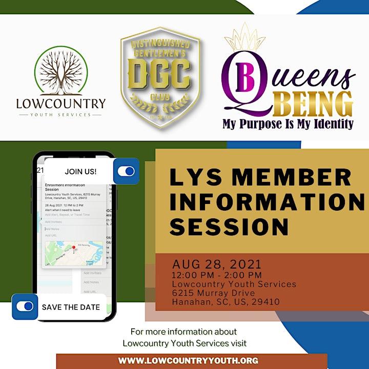2021-2022 LYS Open Enrollment Information Session image