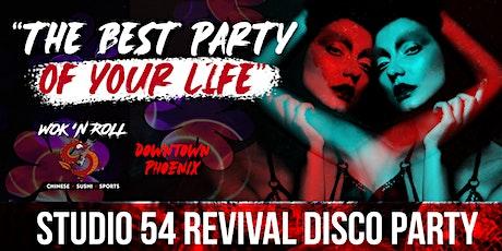 Studio 54 Revival Disco Party tickets