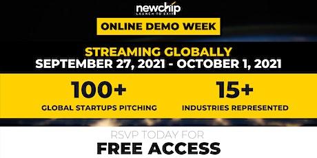 Newchip's September 2021 Online Demo Week tickets