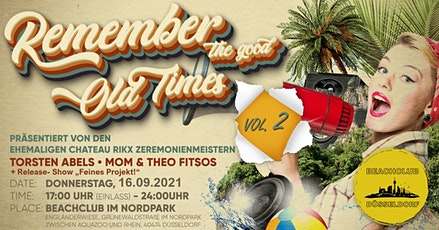 """Remember the good old Times Vol.2 mit Release Show """"Feines Projekt"""" Tickets"""