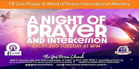 FB LIVE Prayer & Intercession tickets