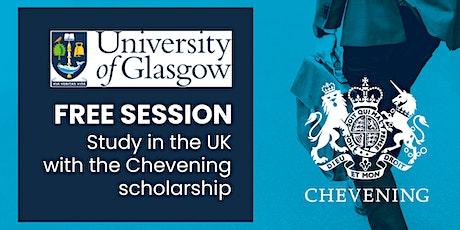 Estudia tu maestría en la Universidad de Glasgow con la beca Chevening entradas