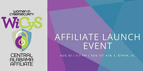 WiCyS Central Alabama Affiliate Launch Event tickets