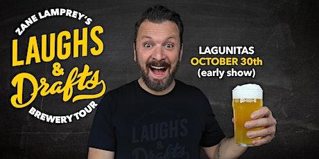LAGUNITAS • Zane Lamprey's Laughs & Drafts • Seattle (Early Show) tickets