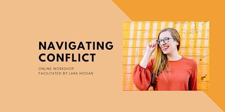 Navigating Conflict Online Workshop tickets