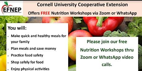 Free Nutrition Workshops tickets