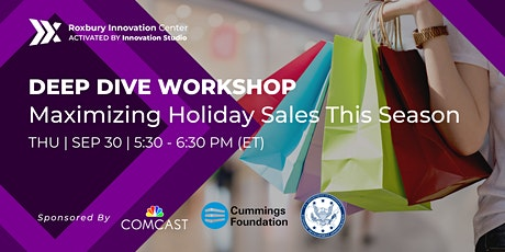 Monthly Deep Dive Workshop: Maximizing Holiday Sales This Season tickets
