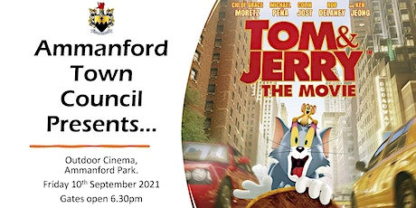 Ammanford Town Council Outdoor Cinema - Tom and Jerry 2021 tickets