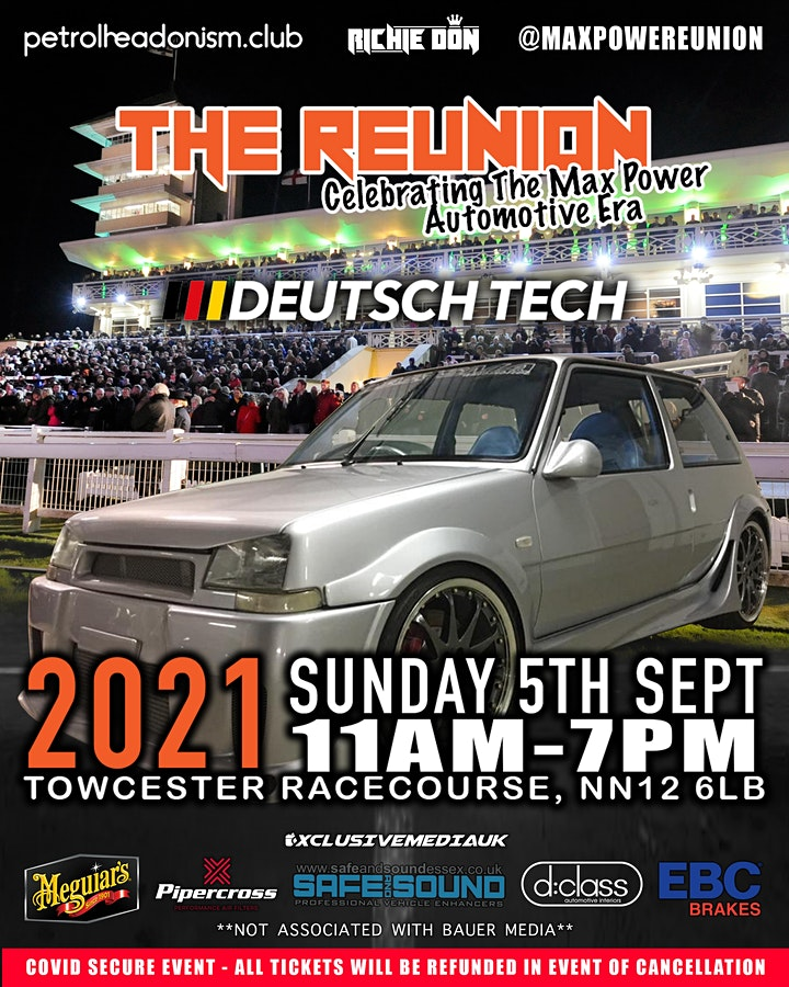 SPECTATOR TICKETS FOR THE REUNION - Celebrating th image