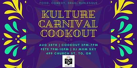 Kulture Carnival Cookout tickets