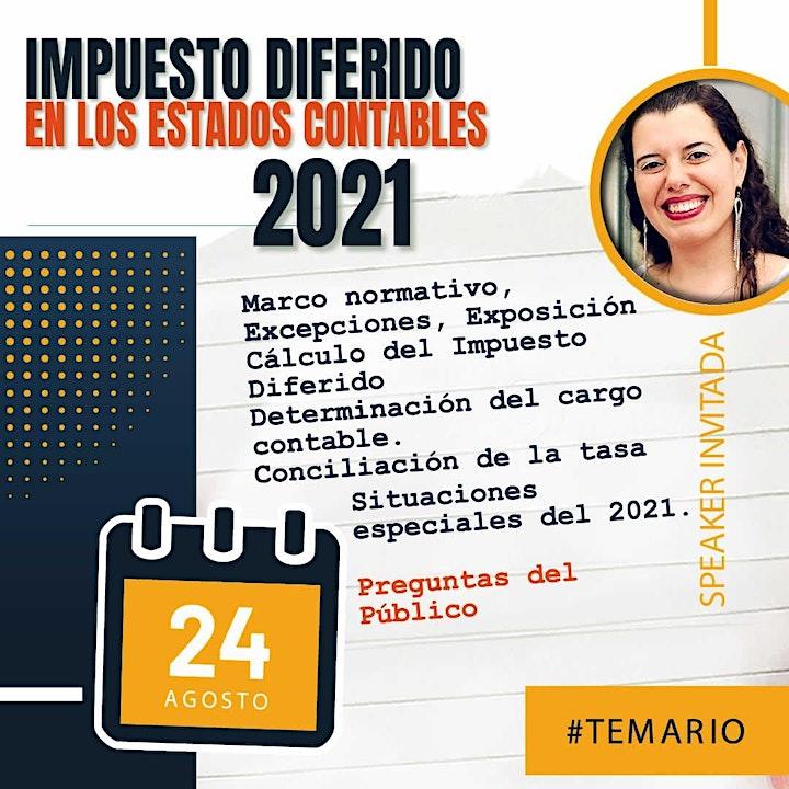 Imagen de Grabación - IMPUESTO DIFERIDO en los Estados Contables 2021