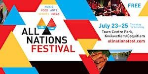 All Nations Festival Tabling