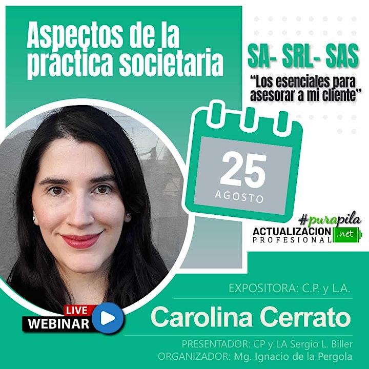 Imagen de Grabación - Aspectos de la práctica societaria SA- SRL- SAS