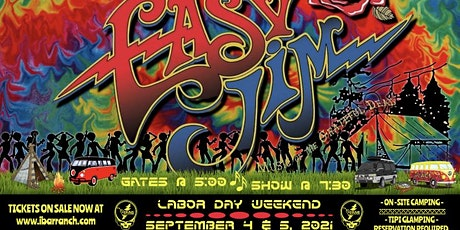 A two night Labor Day Weekend run with Easy Jim, Music of the Grateful Dead tickets