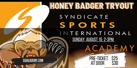 Honey Badgers Team Tryouts tickets