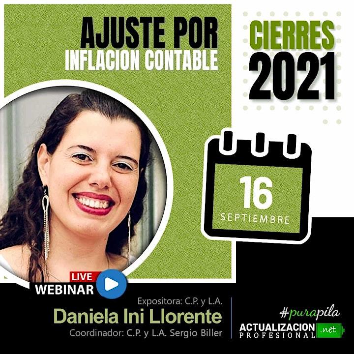 Imagen de GRABACION - Ajuste por Inflación CONTABLE! - Cierres 2021