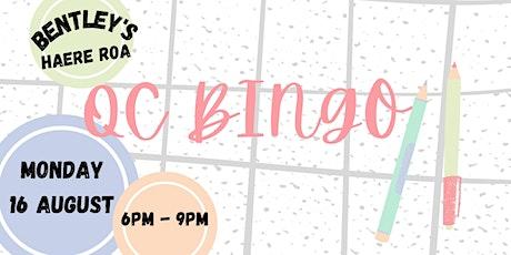 QC Bingo tickets