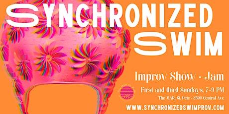 Synchronized Swim - Improv Show & Jam tickets