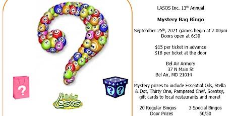 13th Annual Mystery Bag Bingo tickets