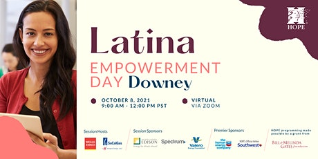 2021 Latina Empowerment Day - Downey (Virtual) tickets