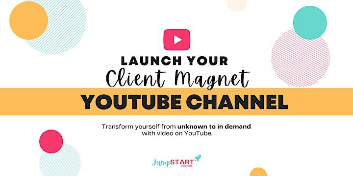 Afbeelding van Launch Your Client Magnet YouTube Channel