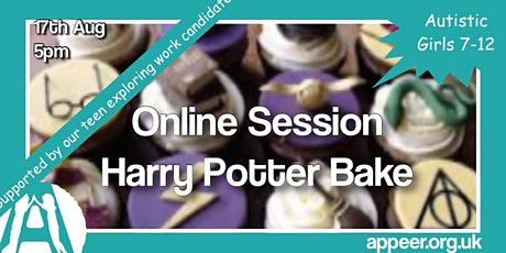 Girls Appeer Online Session - Harry Potter Creatures & Baking (7-12yrs) tickets