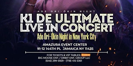 K1 De Ultimate Live In New York tickets
