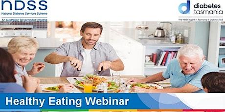 Healthy Eating Webinar - 1 October tickets