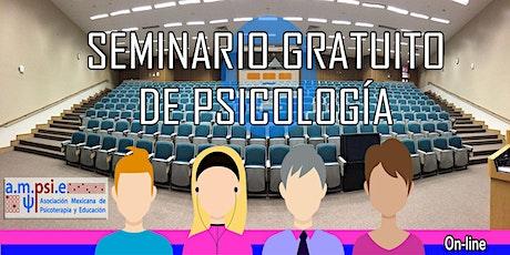 Seminario gratuito de psicología boletos