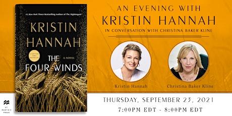 Book + Author: Kristin Hannah | The Four Winds tickets