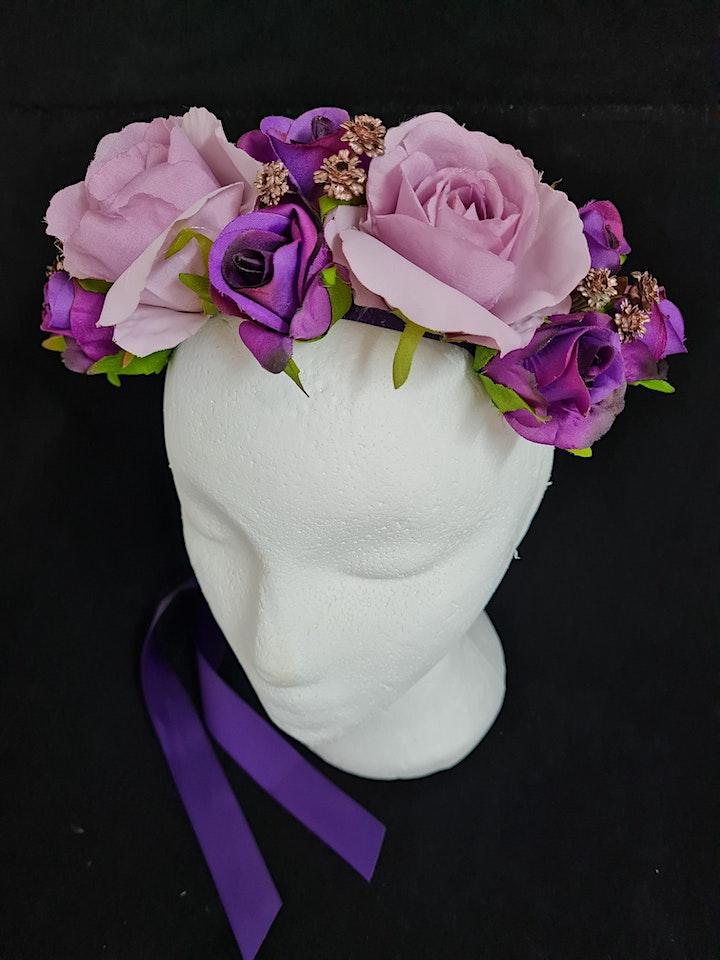 Flower Crown Headband Workshops image