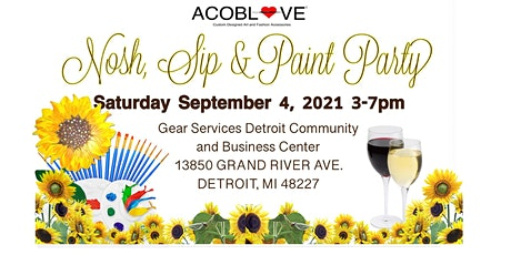 Nosh, Sip and Paint Party tickets