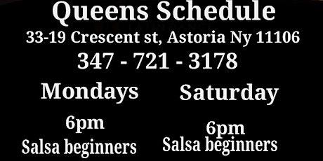 Queens Beginner Salsa Dance Class tickets